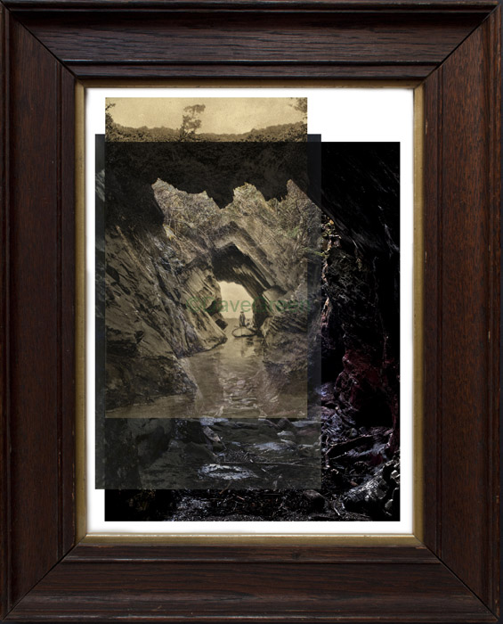Briery Cave through time framed Dave Green