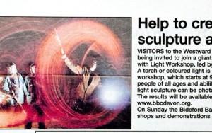 Potwalloping Feature In The North Devon Gazette