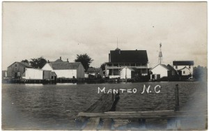 Old Manteo Postcard