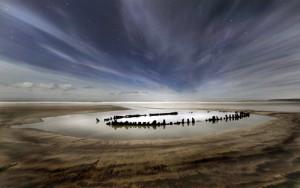 Moonlight Series, The Wreck, © Mike Bentley