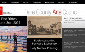 Dare County Arts Council Website