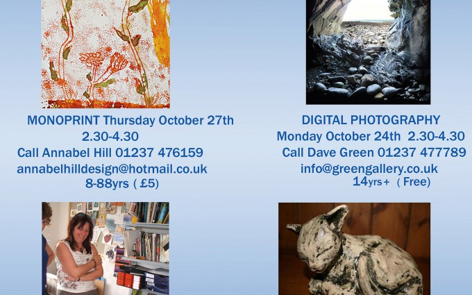 Creative Workshops During Half-Term