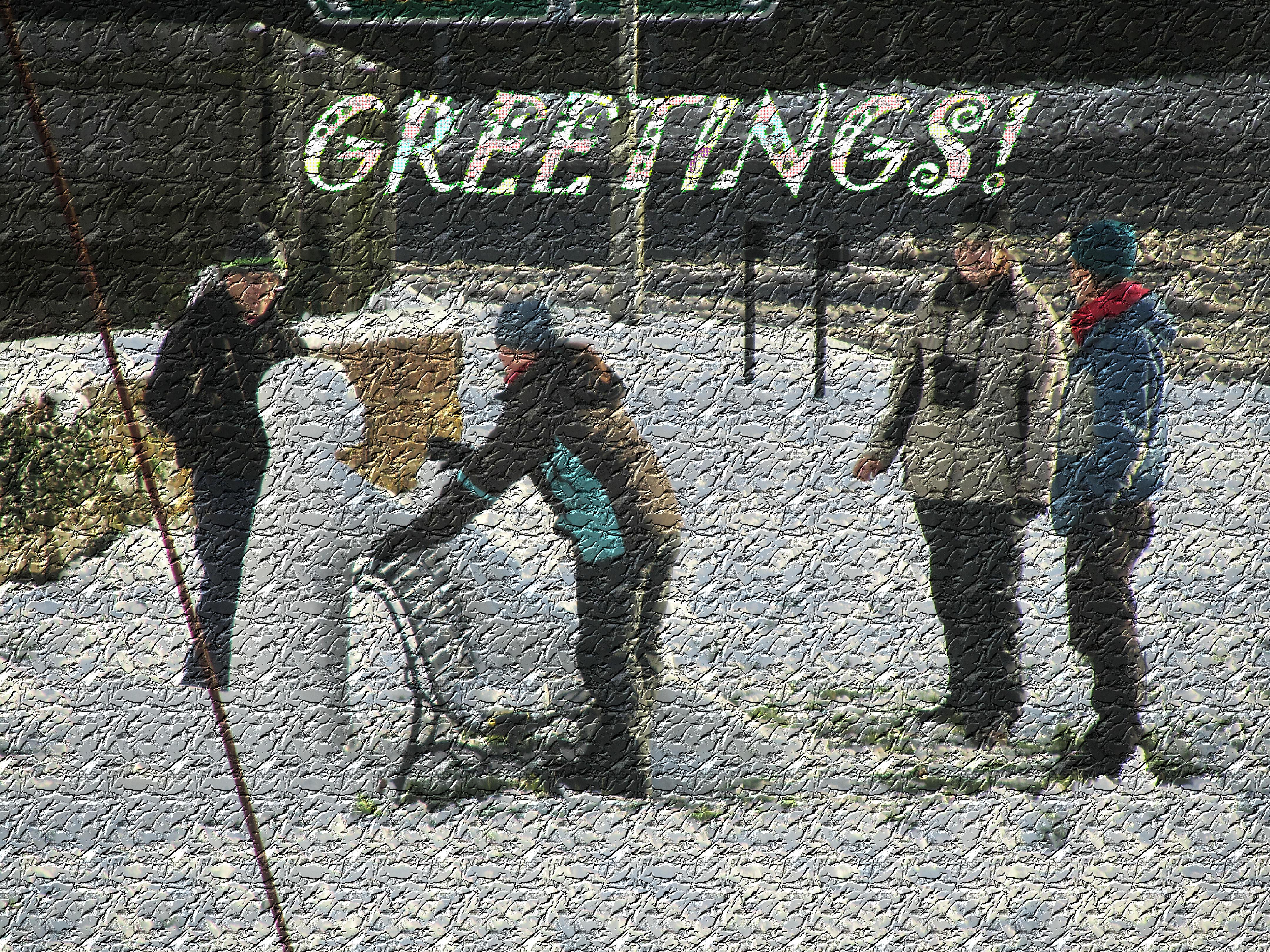 Christmas Greetings ©Cynthia Snowden