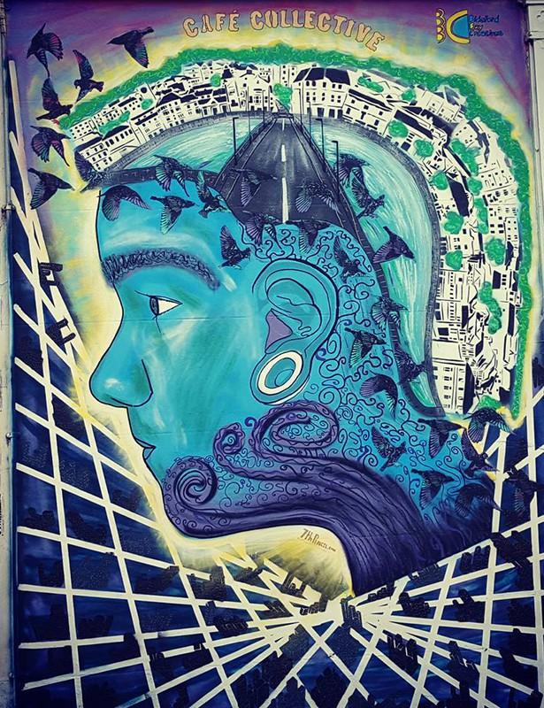 007CS2015 Public Art 7thPencil Mel Saggs © Mel Saggs